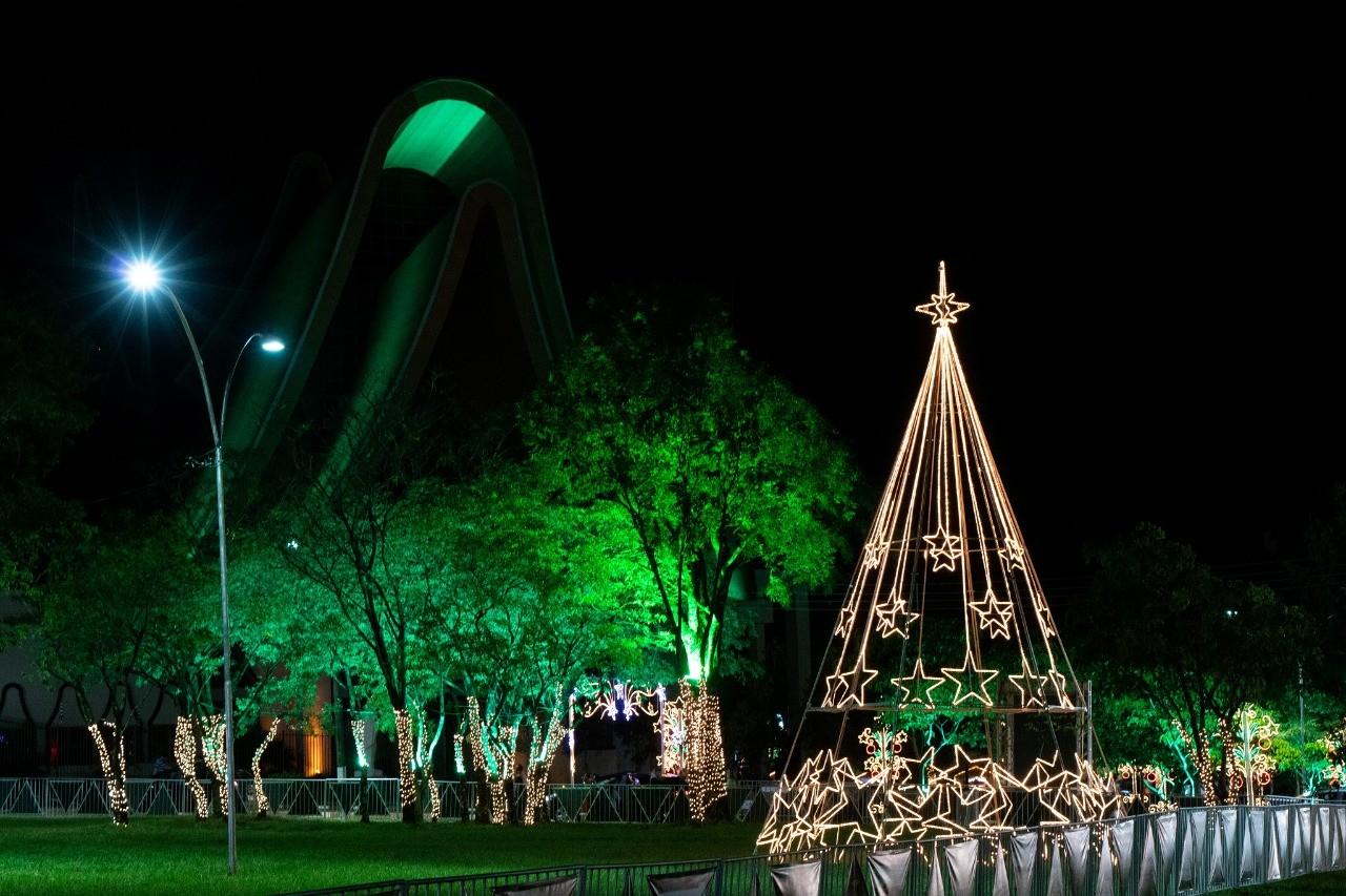 Foz do Iguaçu terá atrações de Natal de 1º a 22 de dezembro, diz prefeitura; veja a programação anunciada
