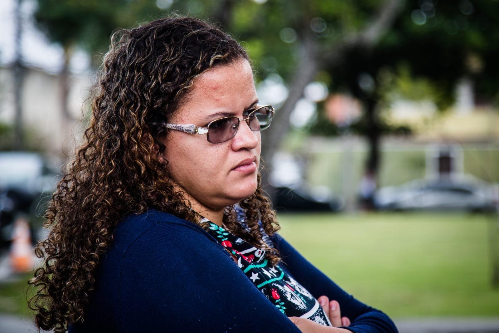 A dona de casa Luana Patrícia Gomes da Silva Alves conseguiu remover o Essure de suas trompas em fevereiro desse ano (Foto: AF Rodrigues/Agência Pública)