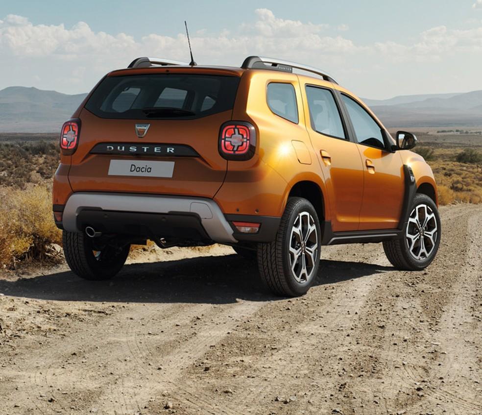 Novo Renault Duster — Foto: Divulgação