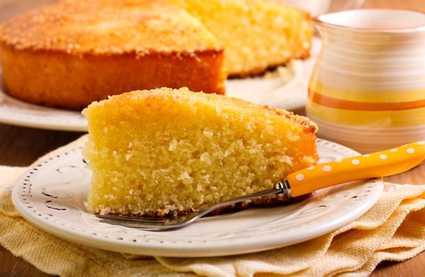 Receita de bolo de mandioca do Divino Fogão (Foto: Divulgação)