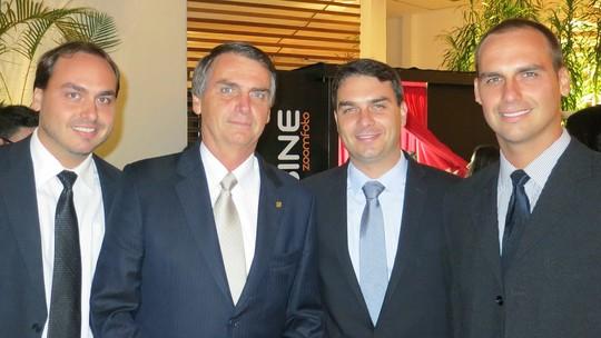 Foto: (Flickr/família Bolsonaro)