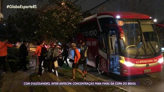 Inter x Athletico: com D'Ale relacionado, Odair volta a fechar treino para definir time