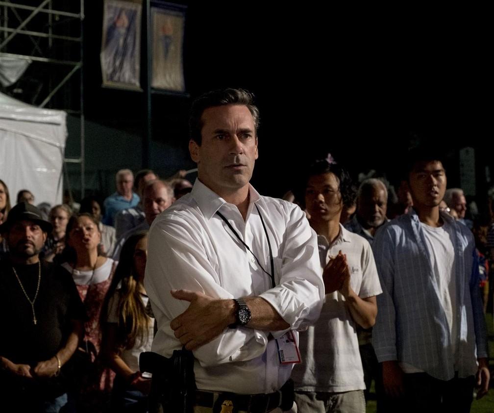 Jon Hamm vive um agente do FBI disposto a tudo para prender um homem inocente em 'O caso Richard Jewell' — Foto: Divulgação