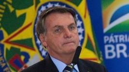 Bolsonaro faz exame de Covid e já usa remédio (ANDRESSA ANHOLETE/GETTY)