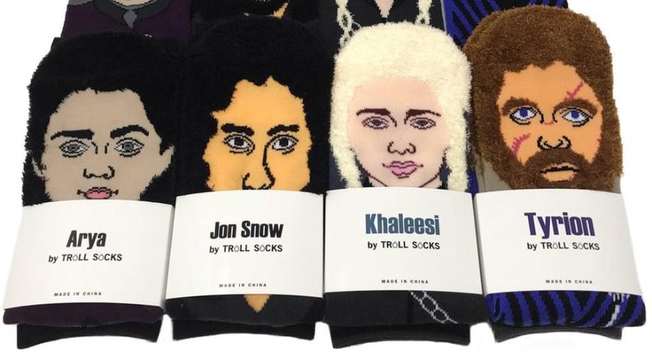 As meias representam quatro personagens (Foto: Divulgação)