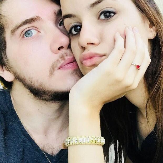 Pedro Malta e a namorada, Mariana Padilha  (Foto: Reprodução/Instagram)