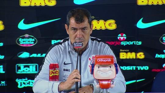 """""""Há rusgas entre Carille e a diretoria do Corinthians"""", afirma André Rizek no Seleção SporTV"""
