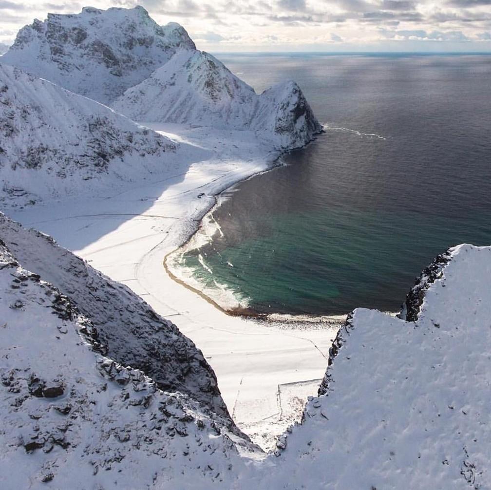 Temperaturas vão abaixo de zero durante o inverno rigoroso (Foto: Divulgação)