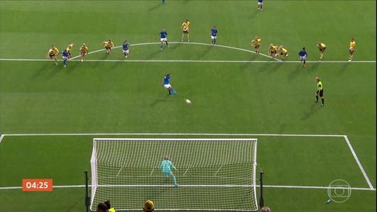 Austrália vence o Brasil por 3 a 2 pela Copa do Mundo Feminina