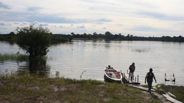 Unidades de preservação foram afetadas por construção de hidrelétricas (Foto: MARIANA VEIGA via BBC)