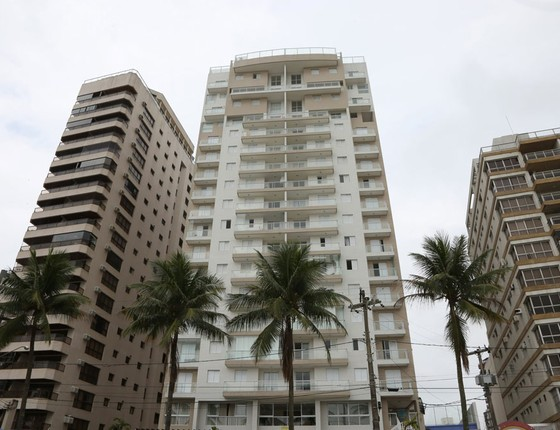 O triplex no Guarujá (Foto: Marcos Alves/Agência O Globo)