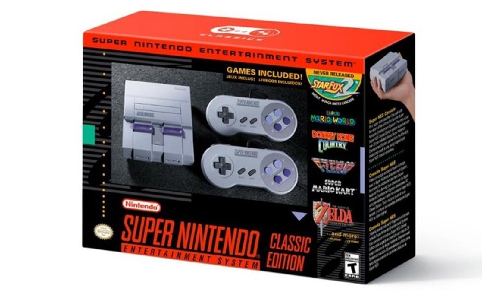 📷 SNES Classic | Divulgação - Nintendo