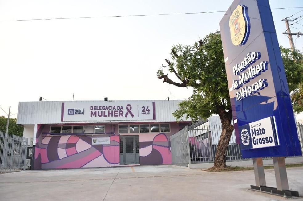 Delegacia da Mulher de Cuiabá atende casos de importunação sexual — Foto: Polícia Civil de Mato Grosso