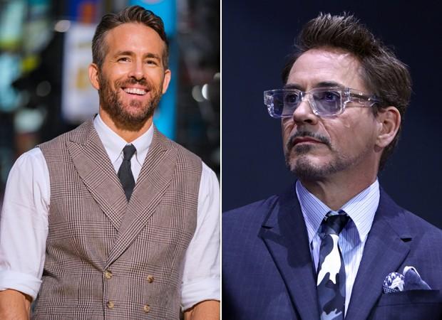 Ryan Reynolds e Robert Downey Jr (Foto: Getty Images)