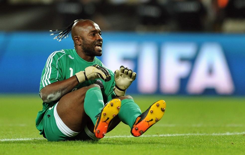 Inter foi eliminado pelo Mazembe de Kidiaba em 2010 (Foto: Getty Images)