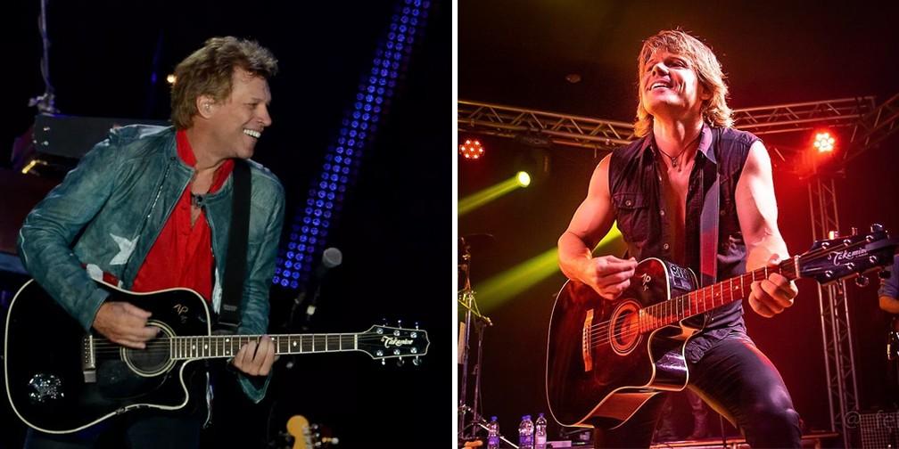 Vale Tudo Pelo Bon Jovi Cinco Amigos De Banda Cover Vao Pagar R 35 Mil Para Encontrar Idolos Rock In Rio 2019 G1