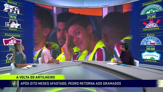 Comentaristas analisam vitória do Fluminense na Copa do Brasil e retorno do atacante Pedro