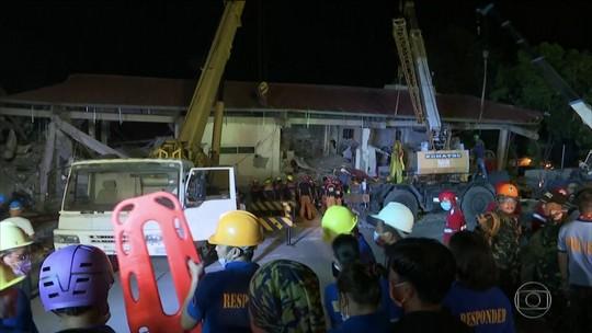 Novos tremores de terra assustam as Filipinas