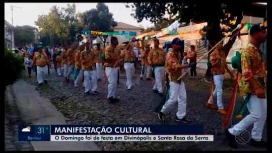 Celebrações do Congado são realizadas em Divinópolis e Santa Rosa da Serra
