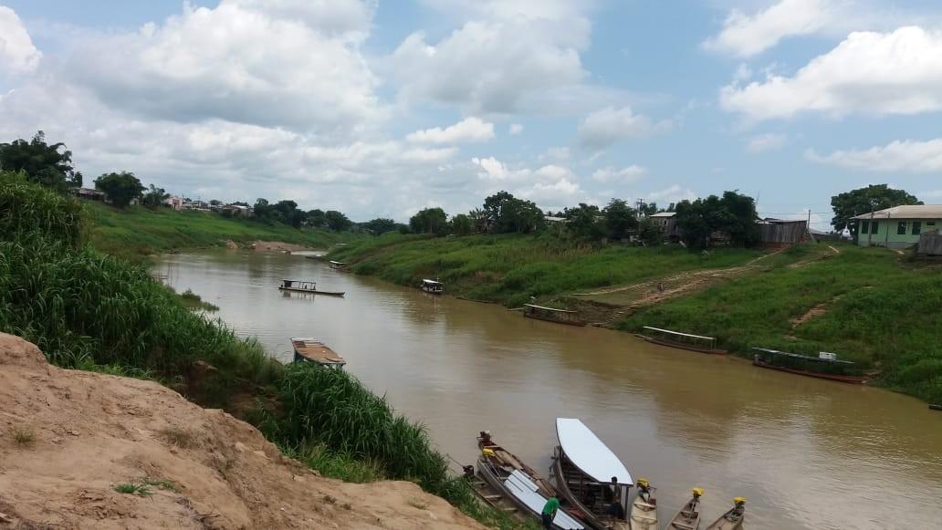 Com menos de meio metro, Rio Iaco atinge menor cota dos últimos 12 anos em Sena Madureira