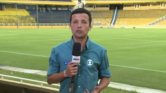 André Hernan traz as notícias antes da partida entre São Paulo e Rosario Central