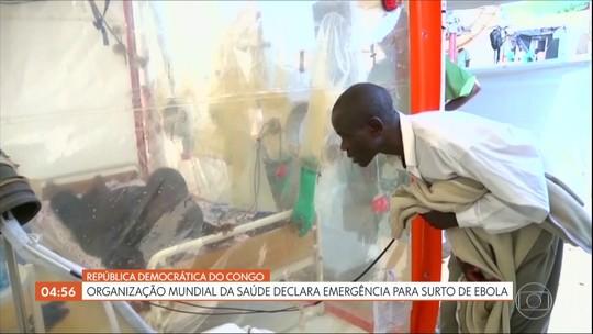 OMS declara emergência para surto de ebola na República Democrática do Congo