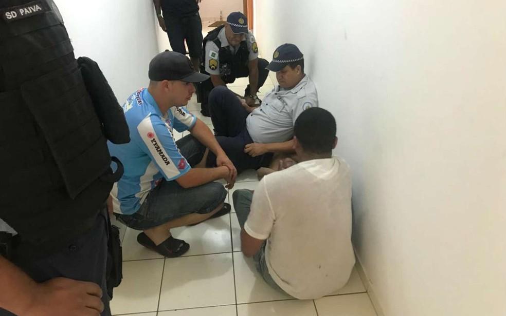 Régis, ex-São Paulo, foi detido em Brasília — Foto: Polícia Militar/Divulgação