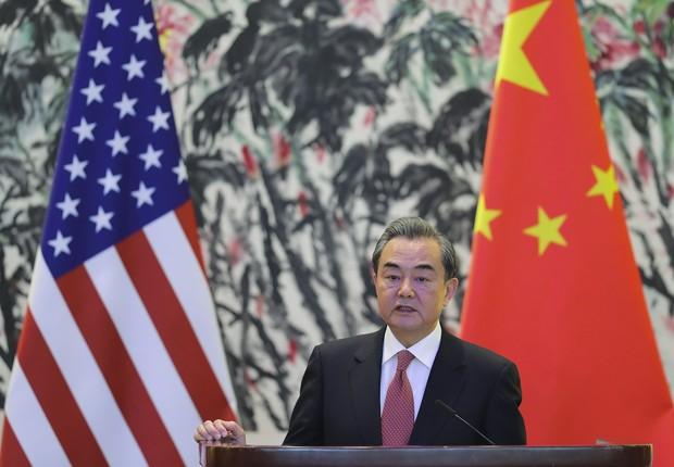 Wang Yi, ministro das Relações Exteriores da China (Foto: Getty Images)