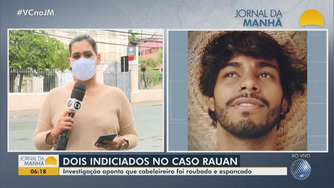 Inquérito sobre o caso do cabeleireiro Rauan é concluído; ele foi roubado e espancado
