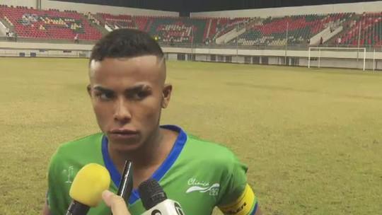 """Goleiro do Atlético-AC lamenta """"gols bestas"""" sofridos, mas mantém confiança em virada"""