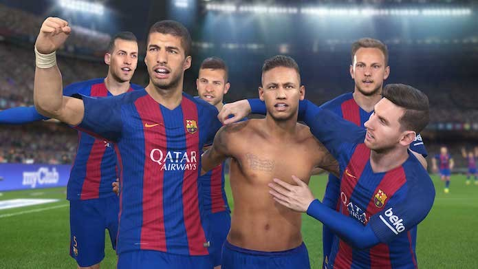 PES 2017: confira as melhores comemorações para provocar os seus oponentes (Foto: Divulgação/Konami)