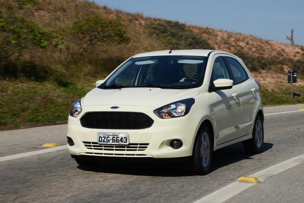 Ford Ka  vendido atualmente no Brasil (Foto: Divulgação)