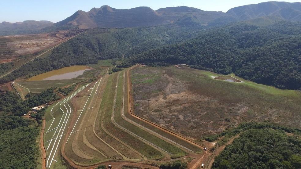 Barragem I – Mina Córrego do Feijão — Foto: Reprodução