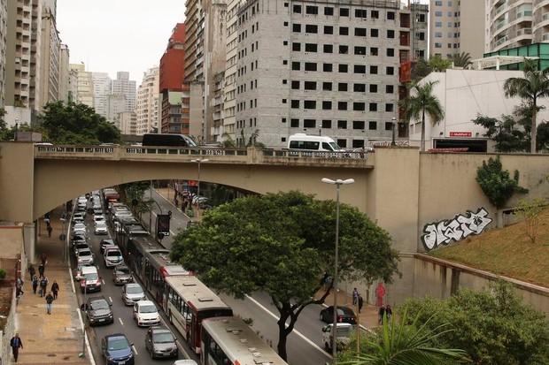 A cidade de São Paulo endurecerá o seu rodízio de veículos (Foto: Ravena Rosa/ Agência Brasil)