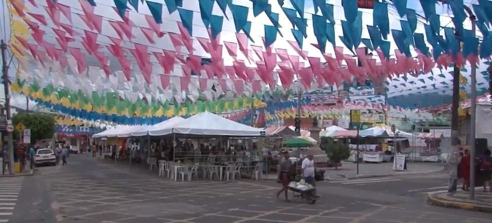 Após cancelamento do São João, pesquisa aponta que quase 78% dos organizadores de eventos tiveram perda de até R$ 100 mil — Foto: Reprodução / TV Bahia