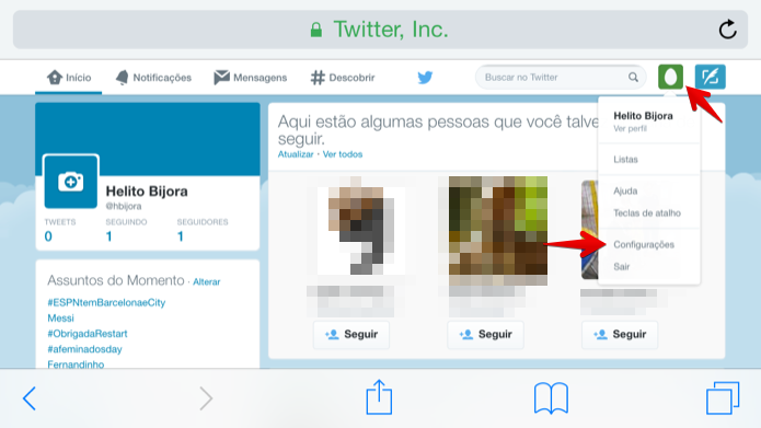 شرح كيفية تعطيل حساب تويتر أو حذفه على الجوال بالصور