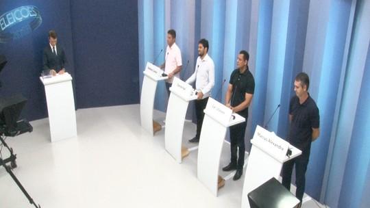 Candidatos ao governo do Acre participam de debate na Rede Amazônica