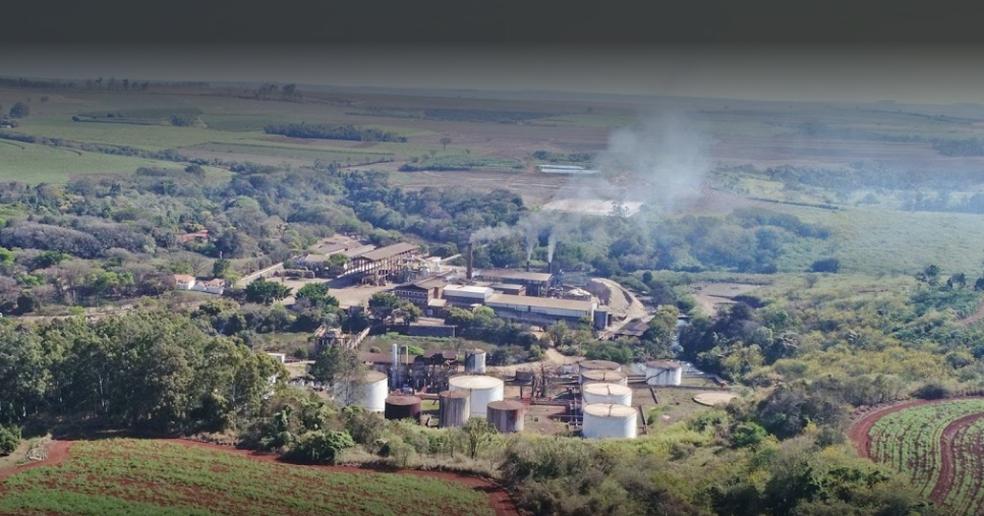 Usina de Dois Córregos que foi alvo do assalto  (Foto: Divulgação)