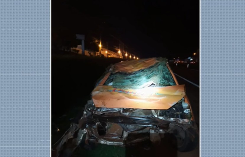 Polícia investiga se marido causou acidente propositalmente para tentar matar esposa e filho dela na BR-376