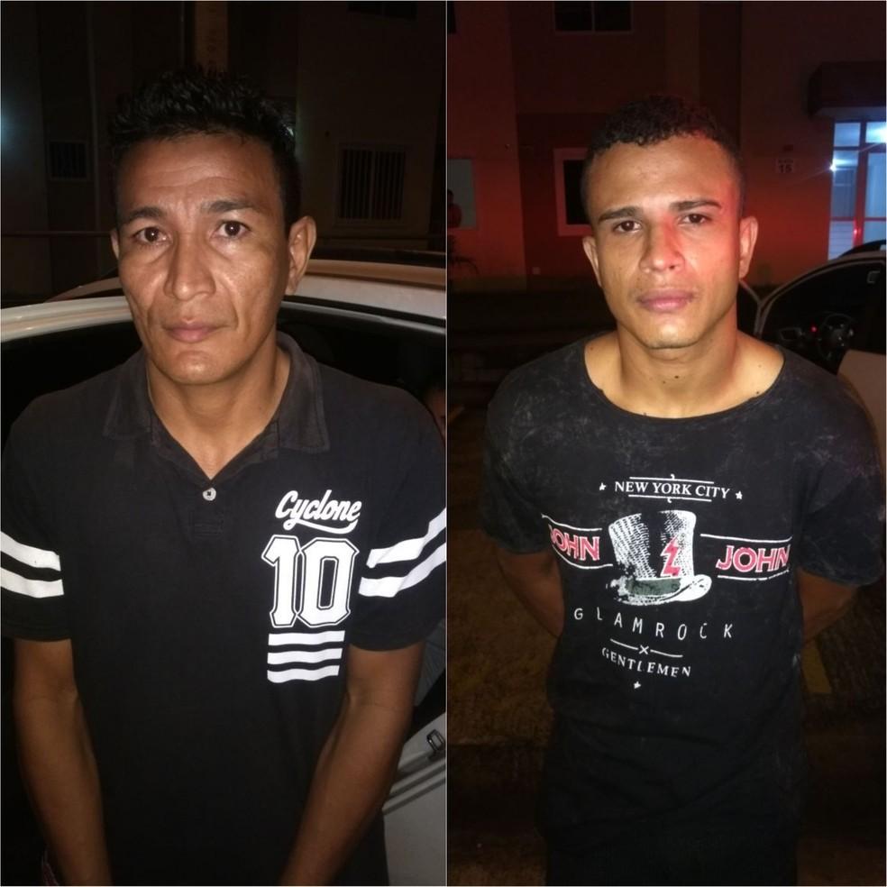 -  Rangel Cardoso  à esquerda  e Thiago Carvalho  à direita  possuem uma extensa ficha criminal, segundo a Polícia  Foto: Divulgação/Polícia Civil