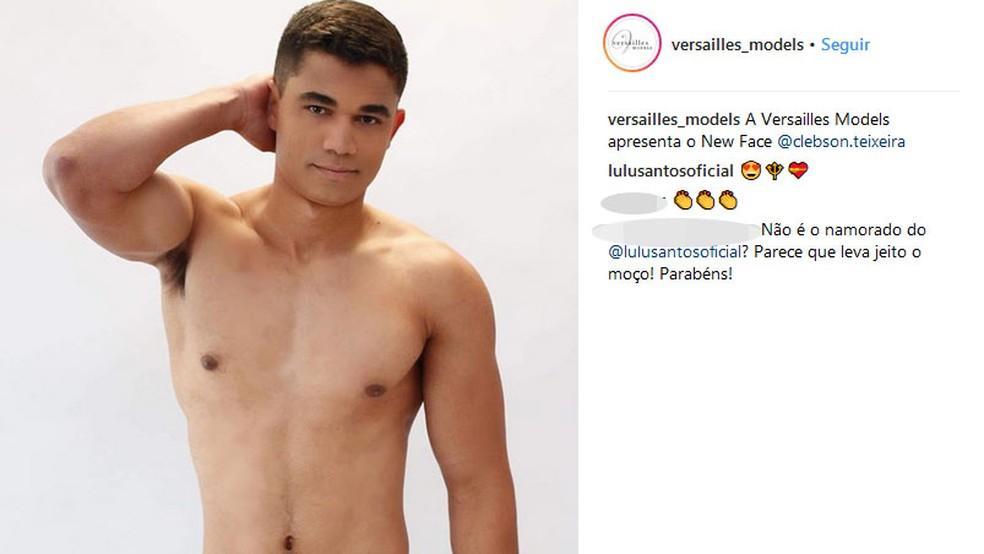 Clebson Teixeira passa a integrar casting de agência, diz diretor (Foto: Haudrey Oliveira/Versailles Models/Divulgação)