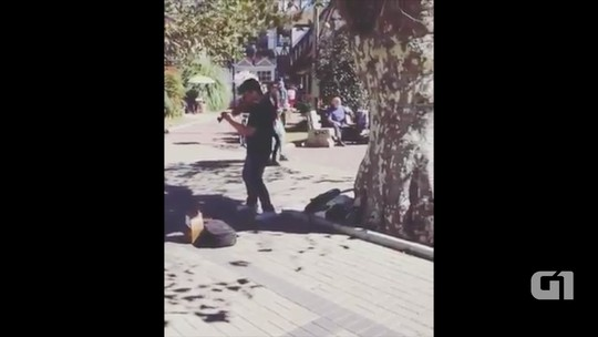 Vídeo de violinista viraliza na web com música de Luan Santana; assista