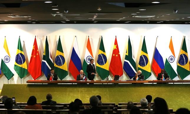 Décima primeira cúpula do Brics, no Brasil, em 2019