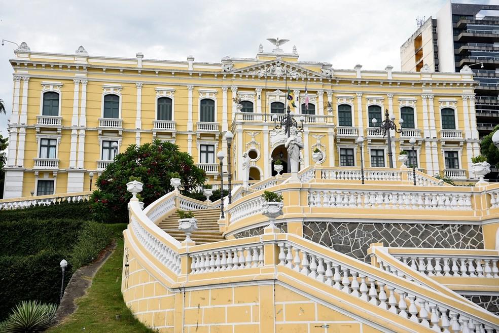 Palácio Anchieta, Sede do Governo do Estado do Espírito Santo  (Foto: Fernando Madeira/A Gazeta/Arquivo)