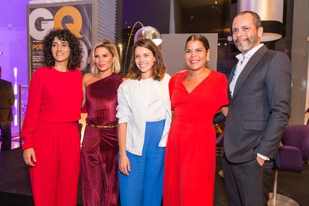 Antonia Pellegrino, Juliana Santos, Bruna Linzmeyer, Daniela Falcão e Ricardo Cruz (Foto: Divulgação)