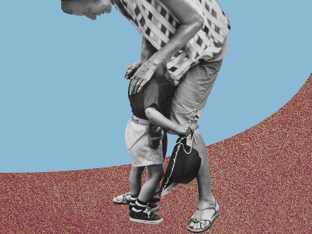 Aos poucos, as cidades brasileiras estão retomando comércios e serviços considerados não essenciais. Conversamos com mães que precisaram voltar aos seus empregos mas não têm com quem deixar os filhos, confinados em casa por conta do fechamento das escolas (Foto: Mariana Simonetti)