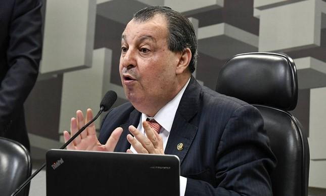 O senador Omar Aziz