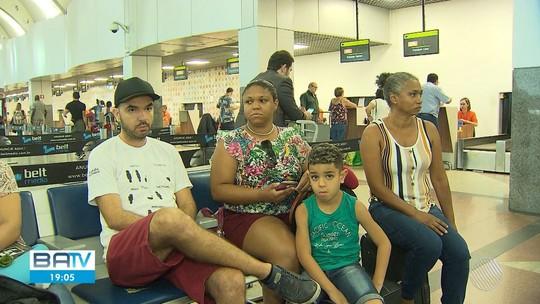 Passageiros da Avianca esperam embarque há mais de 24h em Salvador