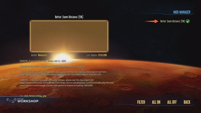 Como baixar mods e cheats para Surviving Mars, novo game de