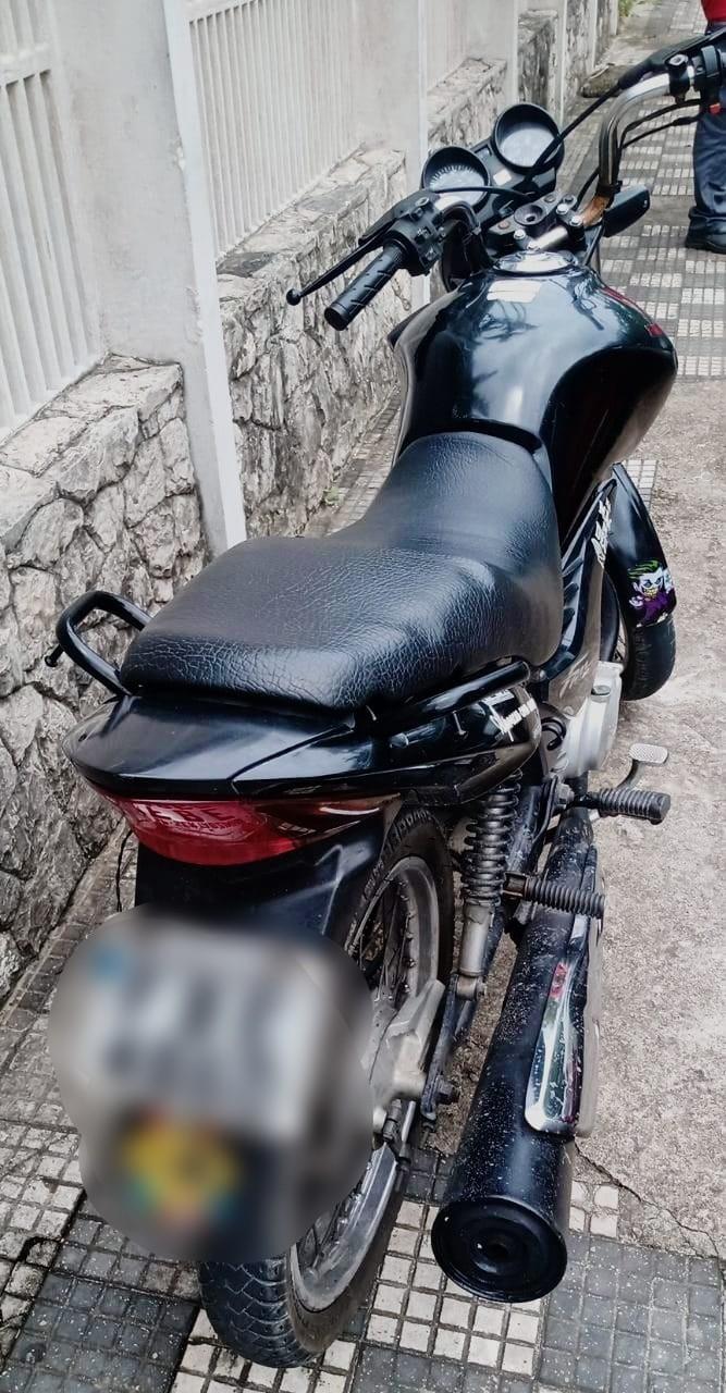 Homem é preso em flagrante após roubar moto em Itanhaém, SP